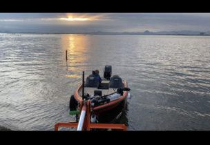 ボート ランチング