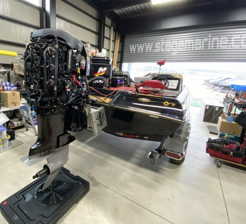 ギャンブラーボートマーキュリーレーシング300xs